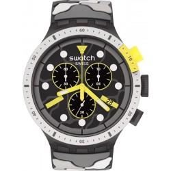 Orologio Swatch Big Bold Chrono Escapeartic SB02M400