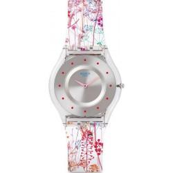 Orologio Swatch Donna Skin Classic Jardin Fleuri SFE102