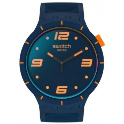Orologio Swatch Big Bold Futuristic Blue SO27N110