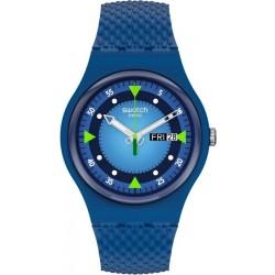 Orologio Swatch Unisex New Gent Blue Blend SO29N701
