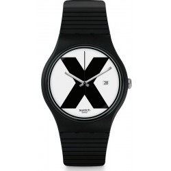 Orologio Swatch Unisex New Gent XX-Rated Black SUOB402