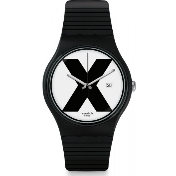 Comprare Orologio Swatch Unisex New Gent XX-Rated Black SUOB402