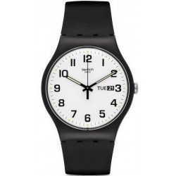 Orologio Swatch Unisex New Gent Twice Again SUOB705