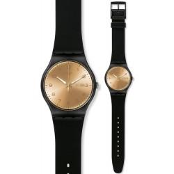 Orologio Swatch Unisex New Gent Golden Friend SUOB716