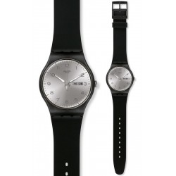 Orologio Swatch Unisex New Gent Silver Friend SUOB717