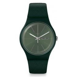Orologio Swatch Unisex New Gent Khakitex SUOG710