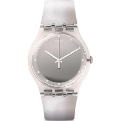 Orologio Swatch Donna New Gent Shiny Moon SUOK121