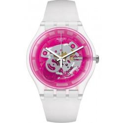 Orologio Swatch Unisex New Gent Pinkmazing SUOK130