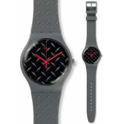 Orologio Swatch Unisex New Gent Text-ure SUOM102