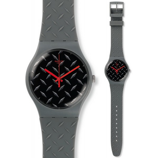 Comprare Orologio Swatch Unisex New Gent Text-ure SUOM102