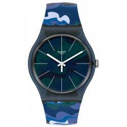 Orologio Swatch Unisex New Gent Camouclouds SUON140