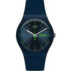 Orologio Swatch Unisex New Gent Blue Rebel SUON700