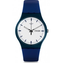 Orologio Swatch Unisex New Gent Bellablu SUON709