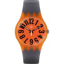 Orologio Swatch Unisex New Gent Larancio SUOO103