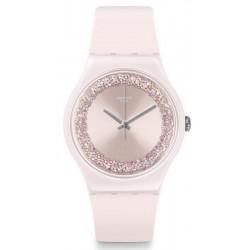 Orologio Swatch Donna New Gent Pinksparkles SUOP110