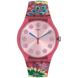 Orologio Swatch Donna New Gent Dhabiscus SUOP112