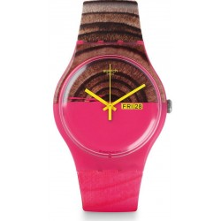 Orologio Swatch Donna New Gent Woodkid SUOP703