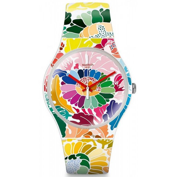 Comprare Orologio Swatch Donna New Gent Flowerfool SUOW126
