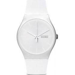 Orologio Swatch Unisex New Gent White Rebel SUOW701