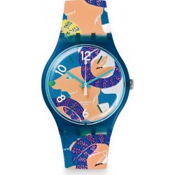 Comprare Orologio Swatch Unisex New Gent The Goat's Keeper SUOZ189