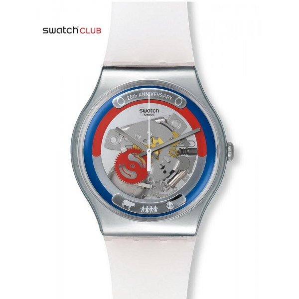Comprare Orologio Swatch Club Unisex New Gent This Is My World SUOZ195