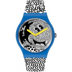 Orologio Mickey Mouse Swatch Eclectic Mickey SUOZ336