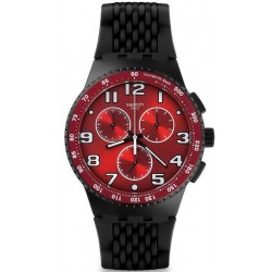 Orologio Swatch Uomo Chrono Plastic Testa di Toro SUSB101
