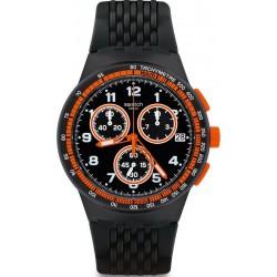 Orologio Swatch Uomo Chrono Plastic Nerolino SUSB408