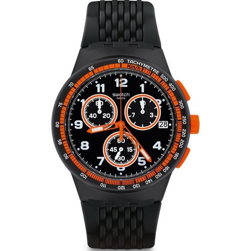 Chrono Nerolino Uomo Orologio Swatch Plastic Susb408 H2EWD9I