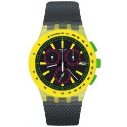 Orologio Swatch Unisex Chrono Plastic Yel-Lol SUSJ402