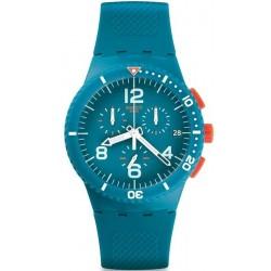 Orologio Swatch Unisex Chrono Plastic Patmos SUSN406
