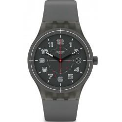 Orologio Swatch Unisex Sistem 51 Sistem Ash SUTM401 Automatico