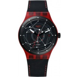 Comprare Orologio Swatch Unisex Sistem51 Sistem Red Automatico SUTR400