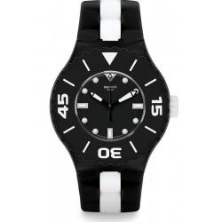 Orologio Swatch Uomo Scuba Libre B&W Deep SUUB102