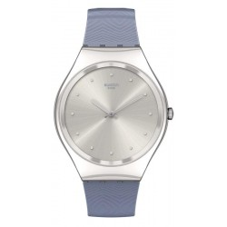 Orologio Swatch Donna Skin Irony Blue Moire SYXS134