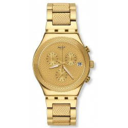 Orologio Swatch Unisex Irony Chrono Goldy Full YCG420G