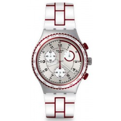 Orologio Swatch Unisex Irony Chrono Speed Counter YCS1012