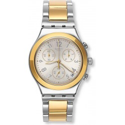 Comprare Orologio Swatch Unisex Irony Chrono Dreamnight Golden YCS590G