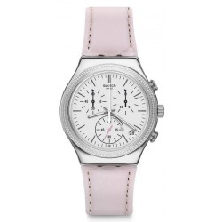 Orologio Swatch Donna Irony Chrono Sweet Madame YCS599