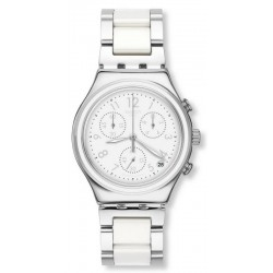 Orologio Swatch Donna Irony Chrono Snow Dream YCS603G