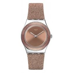 Orologio Swatch Donna Irony Medium Rose Sparkle YLS220