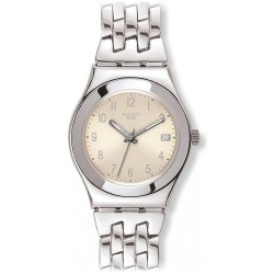 Orologio Swatch Donna Irony Medium Follow Ways Cream YLS441G
