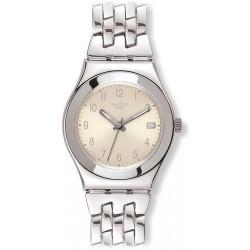 Comprare Orologio Swatch Donna Irony Medium Follow Ways Cream YLS441G