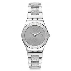 Orologio Swatch Donna Irony Medium Classy Silver YLS466G