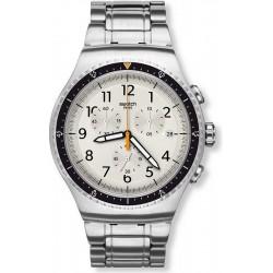 Orologio Swatch Uomo Irony Chrono Minimalis-Tic YOS453G