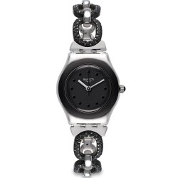 Orologio Swatch Donna Irony Lady Black Glitter YSS293G