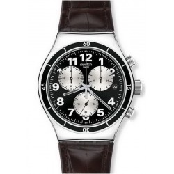 Orologio Swatch Uomo Irony Chrono Browned YVS400