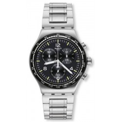 Orologio Swatch Uomo Irony Chrono Night Flight YVS444G
