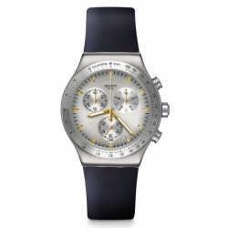Orologio Swatch Unisex Irony Chrono Darkmeblue YVS460