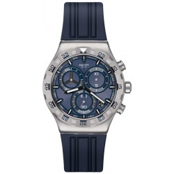 Orologio Swatch Uomo Irony Chrono Teckno Blue YVS473